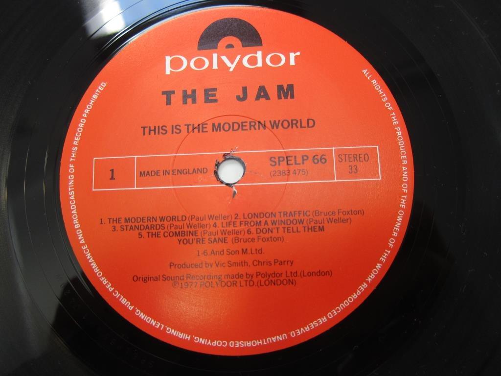 the jam this is the modern world lp vinyl exc vinylkoll