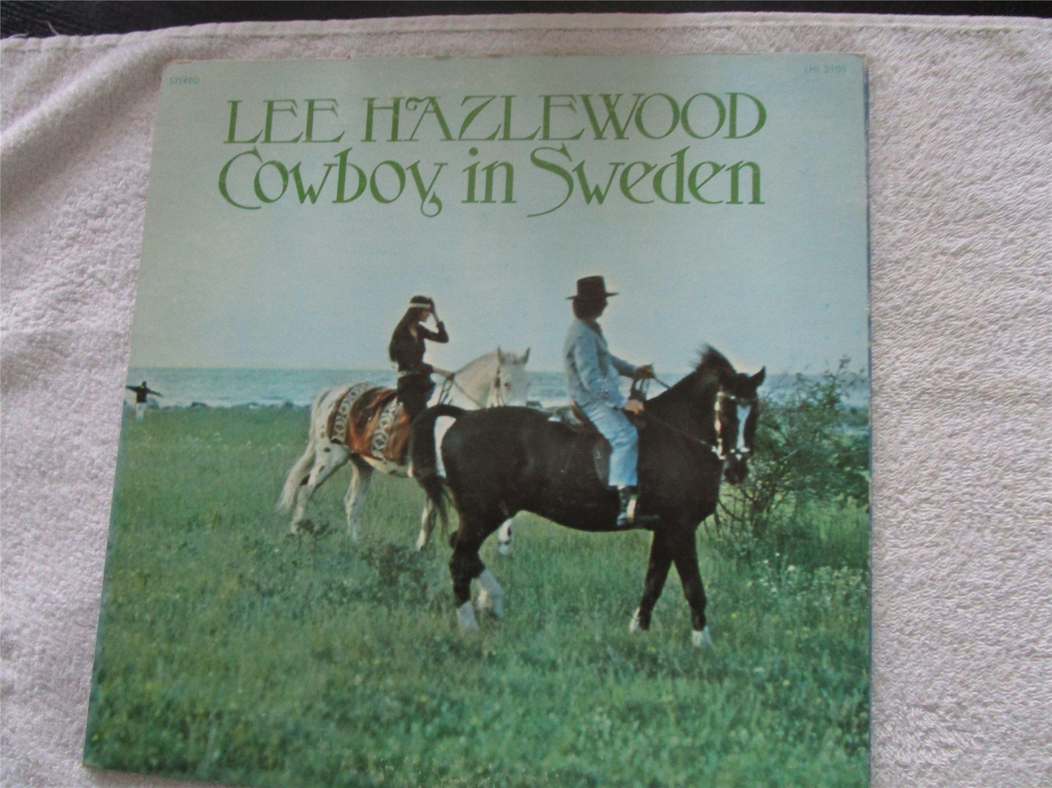 Lee Hazlewood 2 St Lp Skivor Vinylkoll